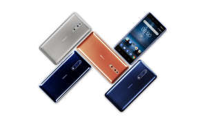 Nokia 8 Range Polished Blue Polished Copper Tempered Blue Steel