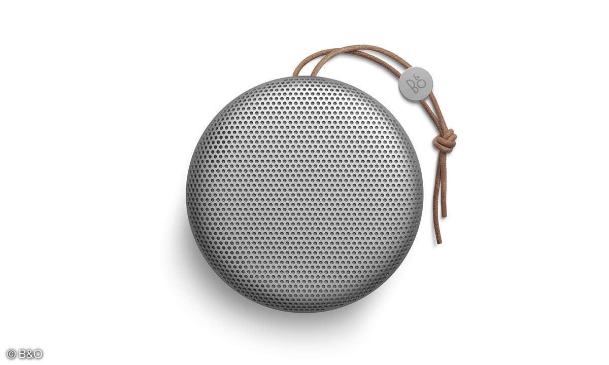 B&O Beoplay A1 Bluetooth Speaker Silber