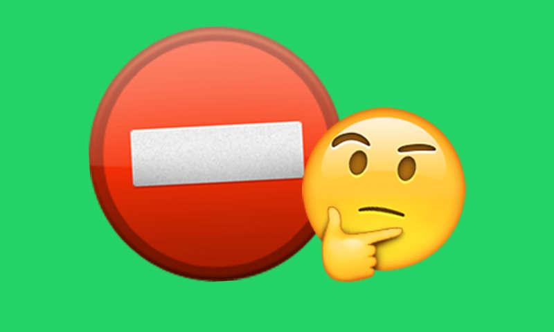 whatsapp blockiert anzeichen