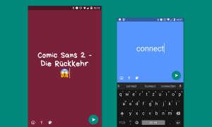 Whatsapp Text Status Update