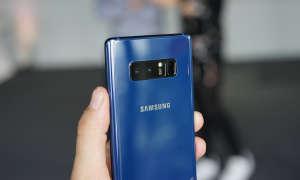 Samsung Galaxy Note 8 Rückseite Blau