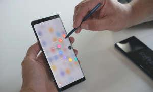 Samsung Galaxy Note 8 Stiftbedienung