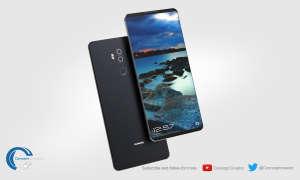 Huawei Mate 10 Concept Design Renderbild
