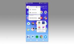 Android 8 Benachrichtigungspunkte