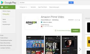 Amazon Prime Video App Google Play Store