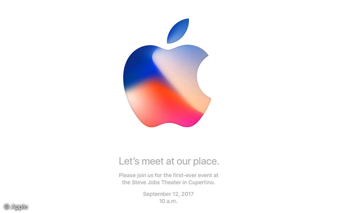 Apple-Event 2017 Einladung