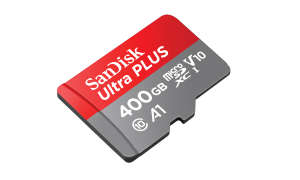 Western Digital SanDisk Ultra microSDXC UHS-I-Karte 400 GB