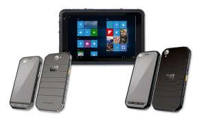Cat phones Cat S31, Cat S41 und Caterpillar T20
