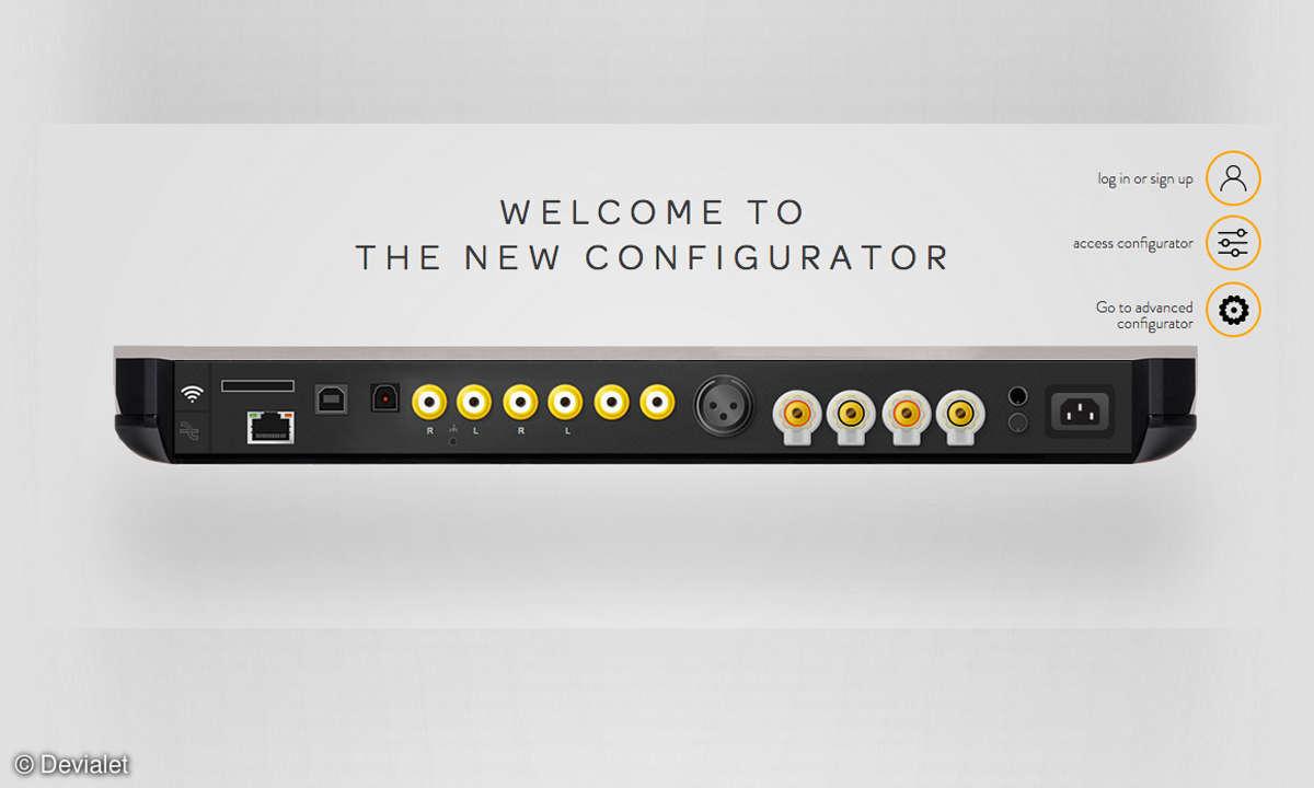 Devialet Expert 1000 Pro Web Konfigurator