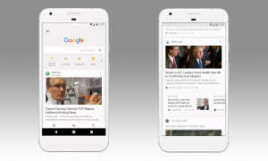 Google App Feed Screens