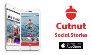Cutnut App social Display