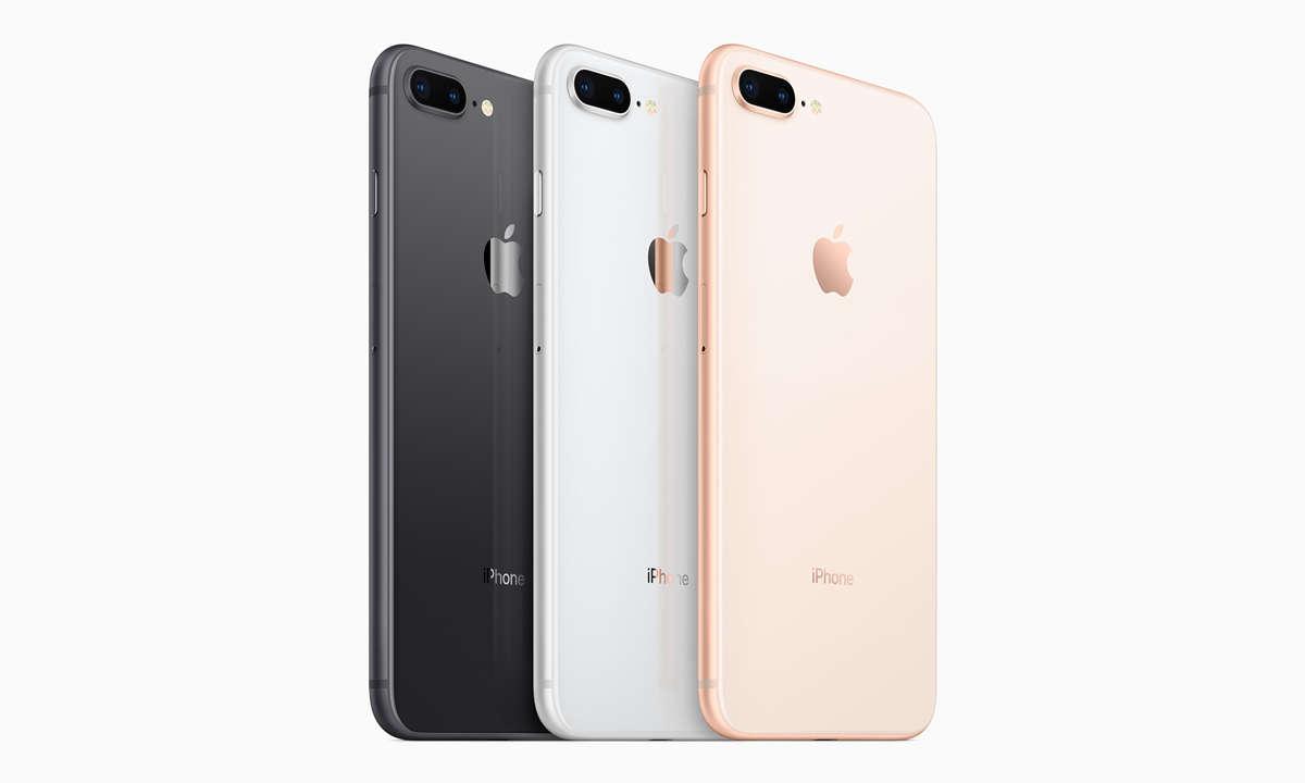 Apple Smartphone Rückseite Finishes Design