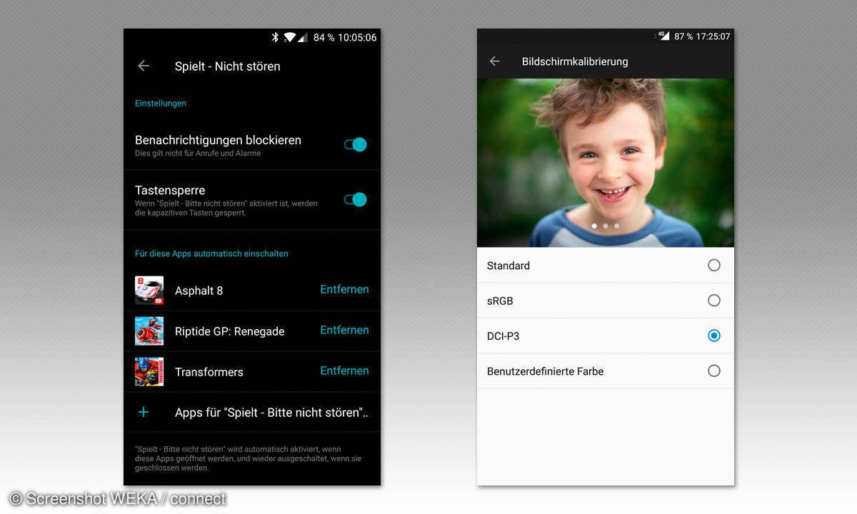 OnePlus 5 Screenshots