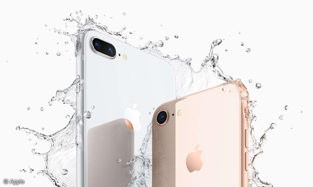 Apple iPhone 8 Plus iPhone 8 Kameras Wasser