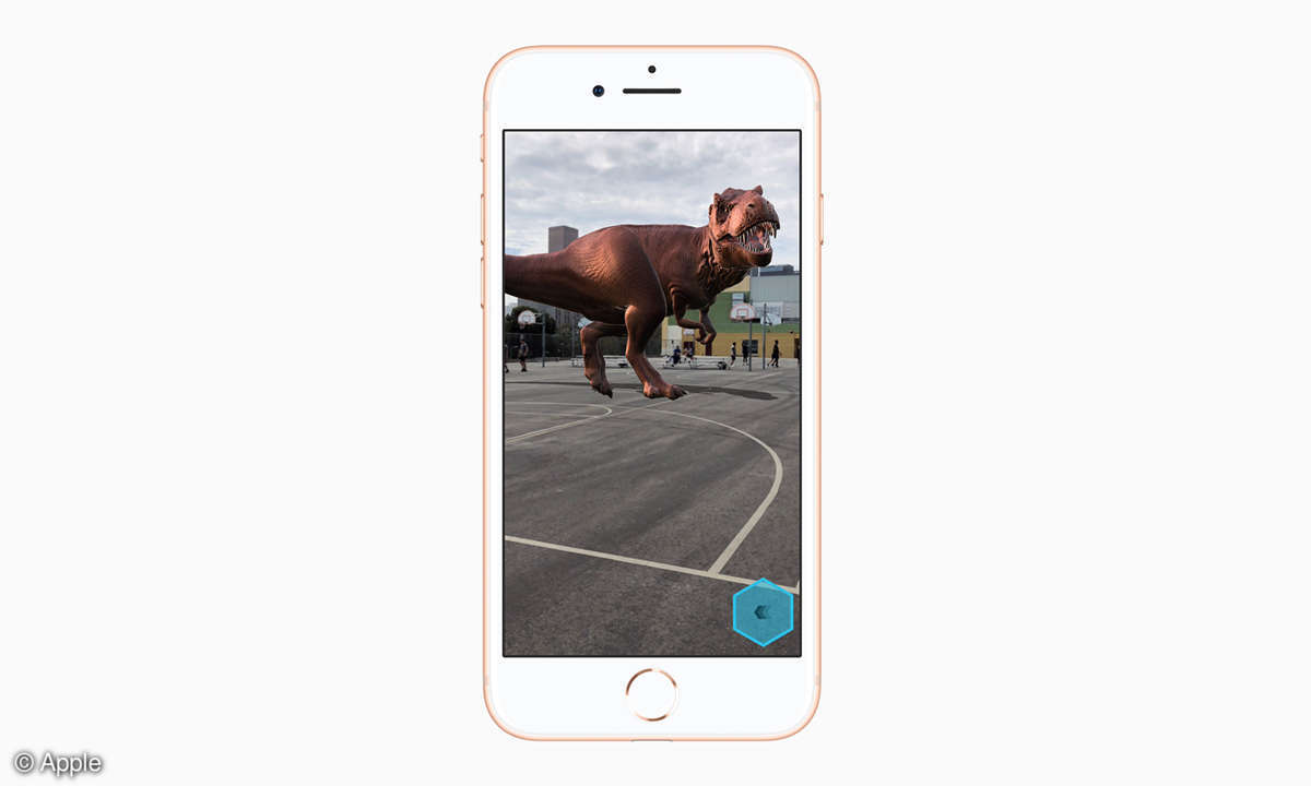 Apple iPhone 8 Augmented Reality