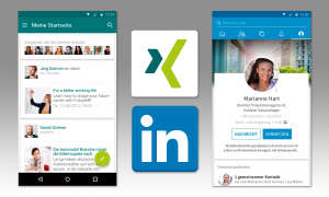 Xing Linked In Screens