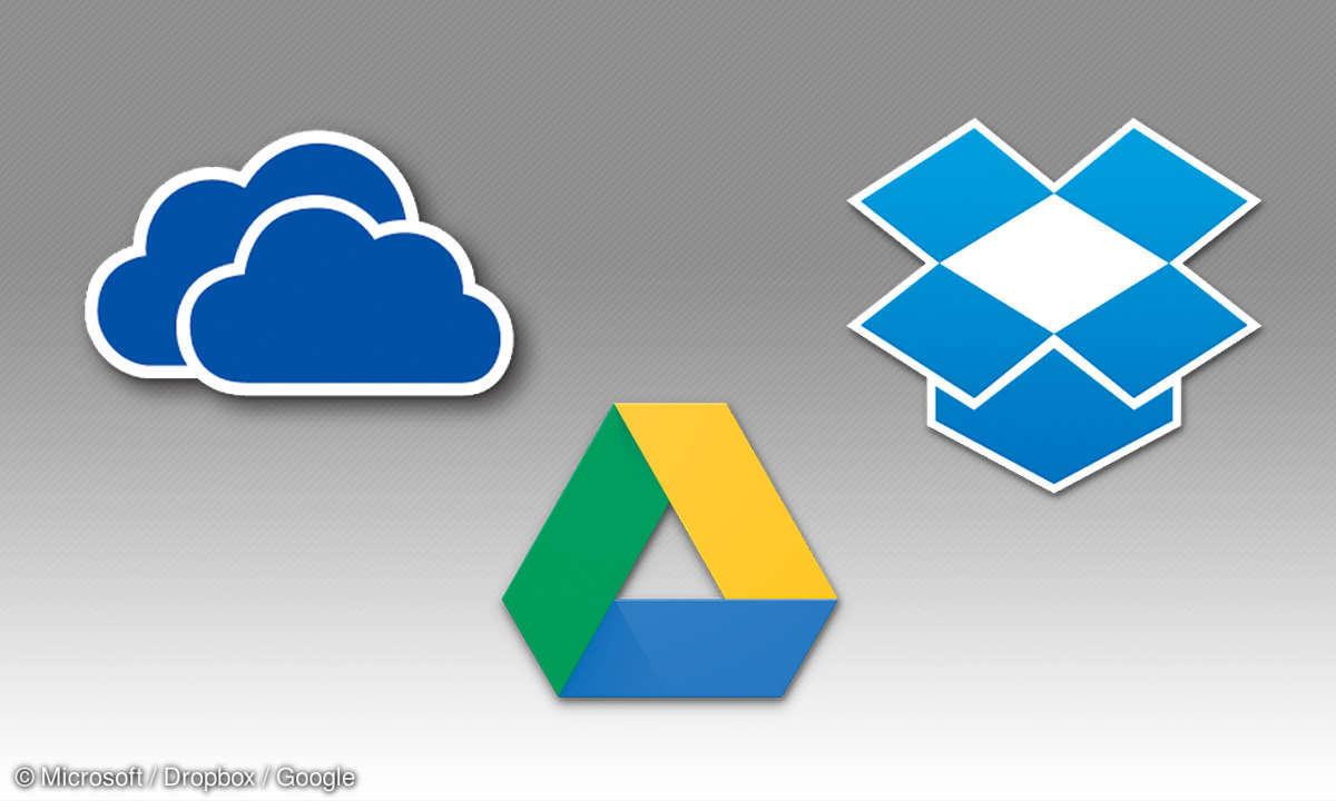 Dropbox, One Drive, Google Drive