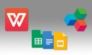 Google Apps OfficeSuite WPS Office