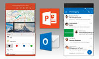 Microsoft-Powerpoint und Outlook
