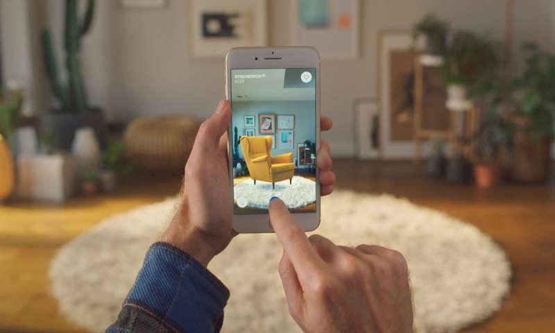 ikea ar app mit ios 11 m bel virtuell im raum platzieren connect. Black Bedroom Furniture Sets. Home Design Ideas