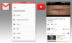 Google Gmail & Youtube
