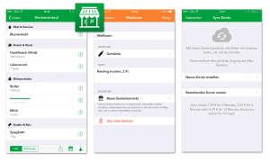 Milk for us - Einkaufsplaner-App