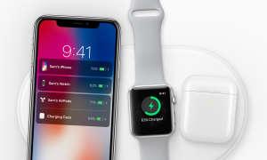 iPhone X kabellos laden