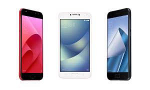 ASUS ZenFone 4 Selfie Pro, ZenFone 4 Max und ZenFone 4