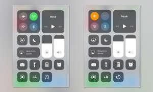 iOS 11 WLAN und Bluetooth im Kontrollzentrum