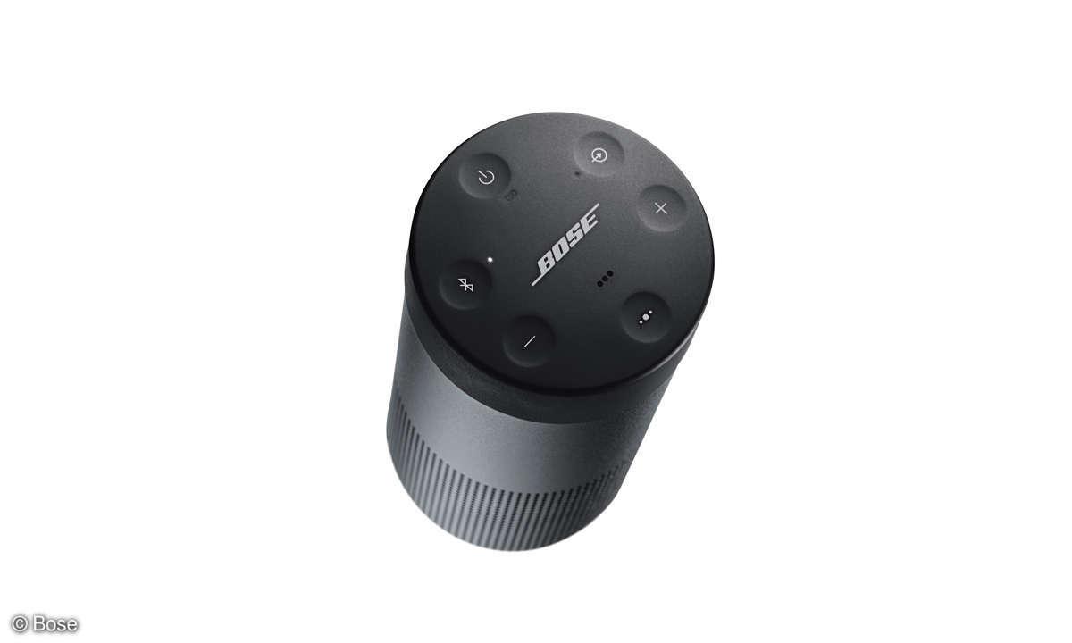 Bose SoundLink Revolve Bluetooth-Speaker Top