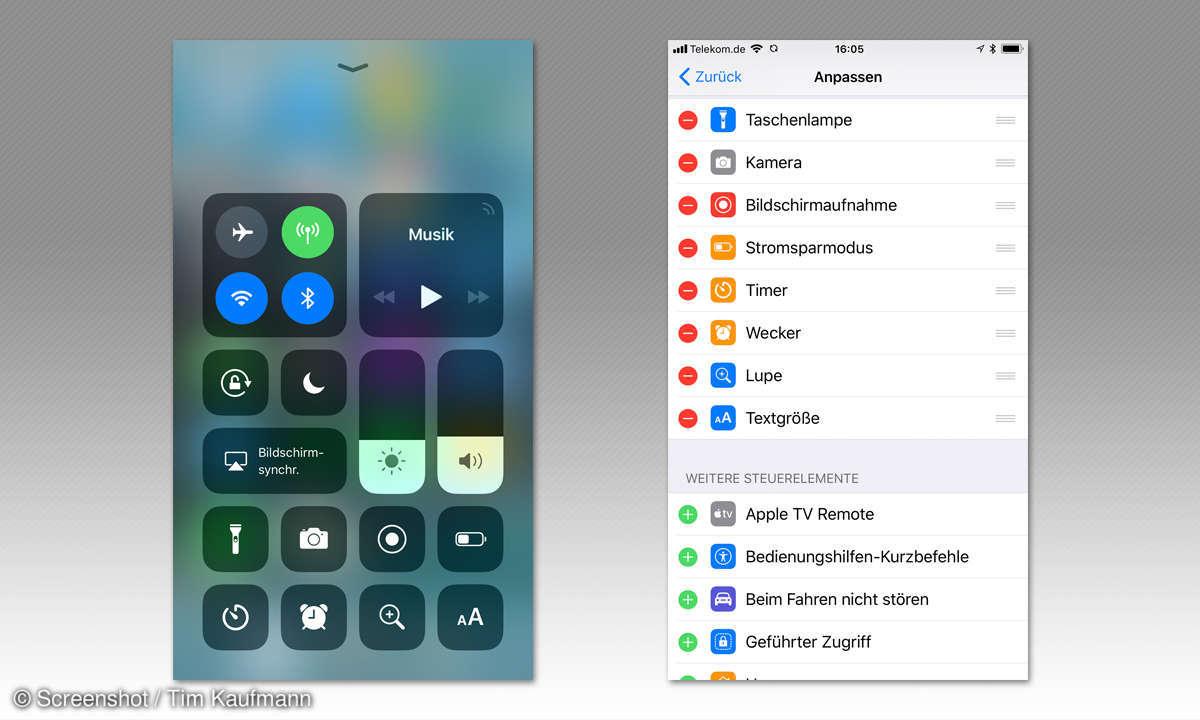 iOS 11 Screenshot
