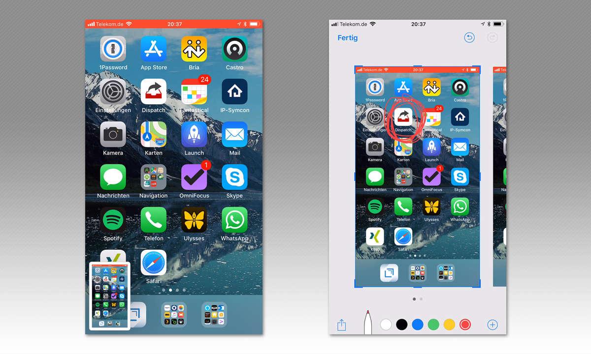 Profilbilder app ISD2go on