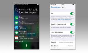 Sprachsteuerung Apple Siri