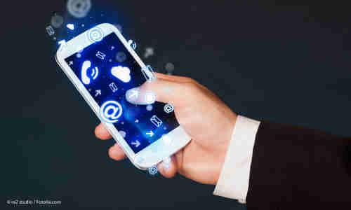 Business Apps Arbeiten Mit Dem Smartphone Connect