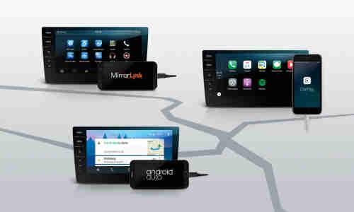 Android Auto, Apple CarPlay und Mirror Link im Test - connect