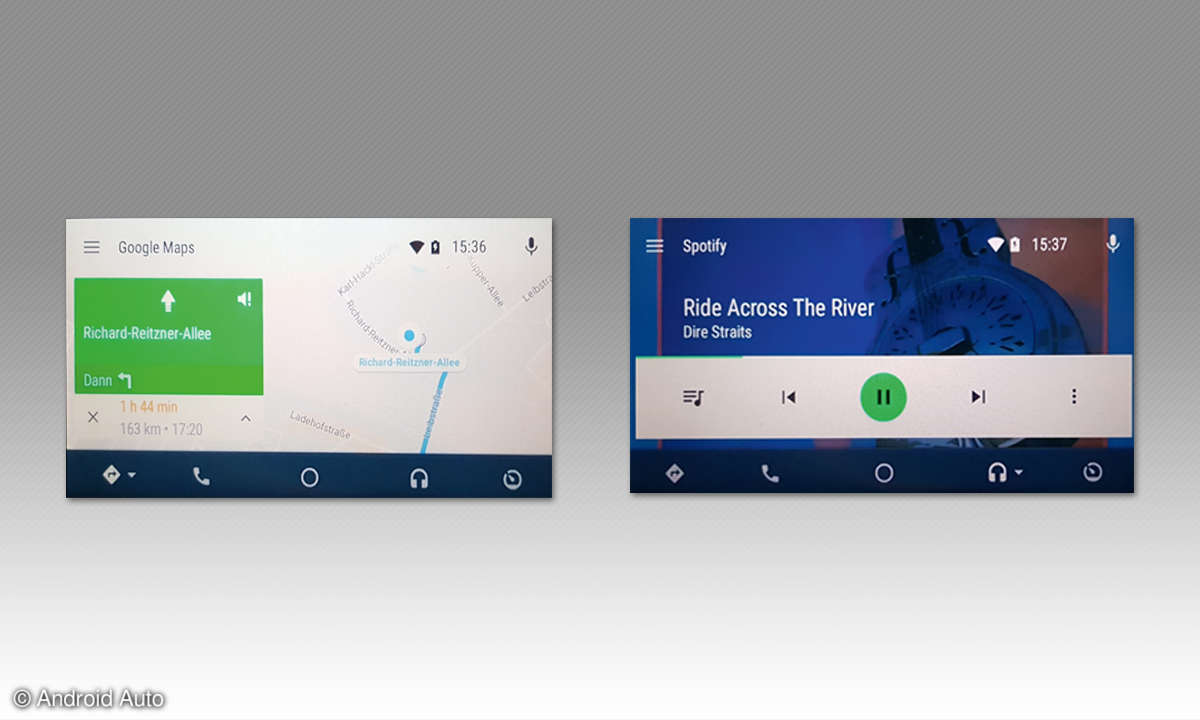 Android Auto Screens