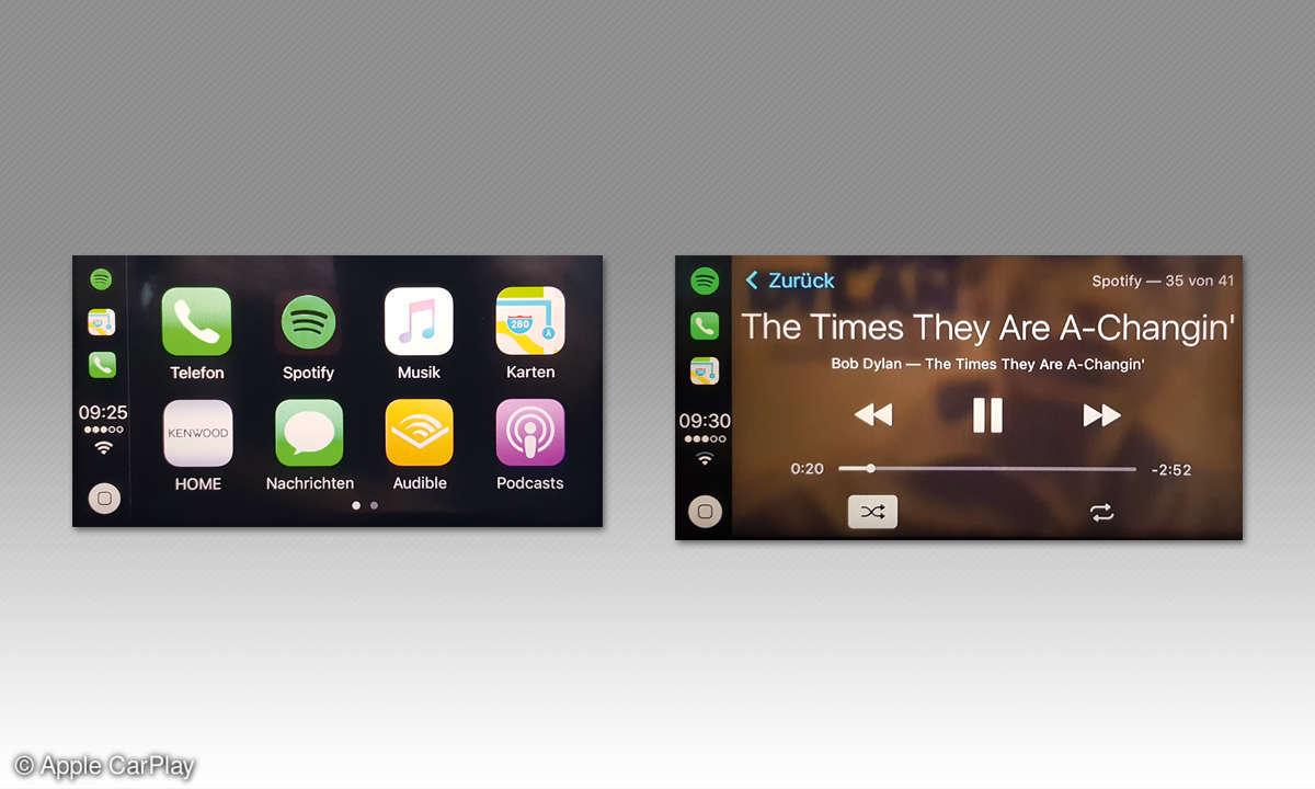 Apple CarPlay Screens