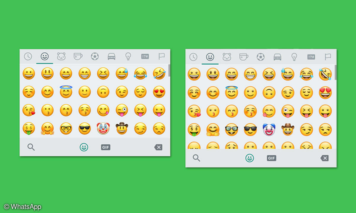 WhatsApp neue Smileys