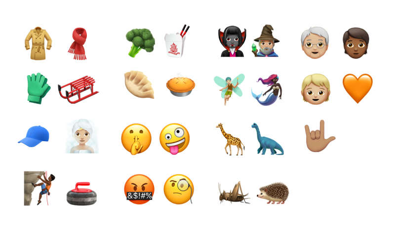 Apple Neue Emojis
