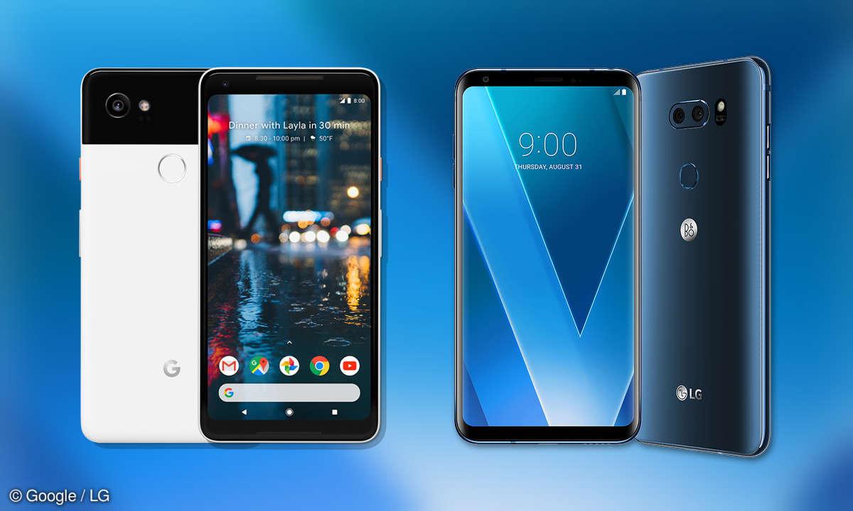 Google Pixel 2 XL vs. LG V30