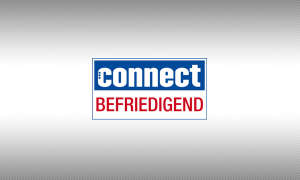 Testsiegel connect befriedigend