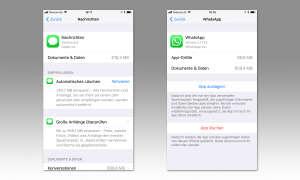 iOS 11 Einstellungen