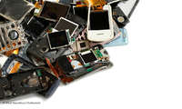 Smartphone Schrott