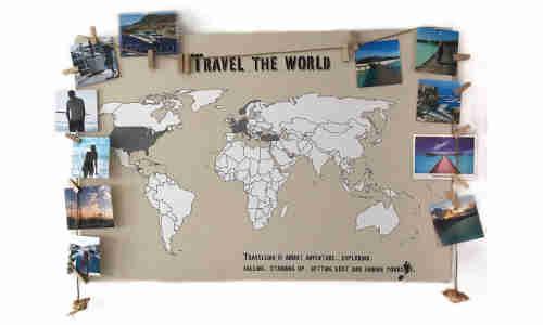 Meine Weltkarte De Connect