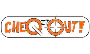 Cheq-it-out! Logo