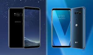 Samsung Galaxy S8 vs. LG V30
