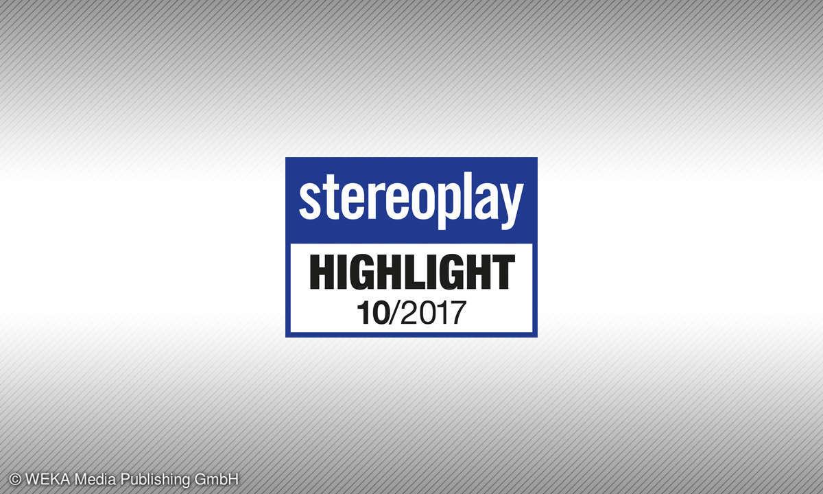 Testsiegel 10/2017 Stereoplay Highlight