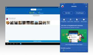 Datenübertragungs App - Share It