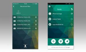 Datenübertragungs App - WiFi File Share Pro