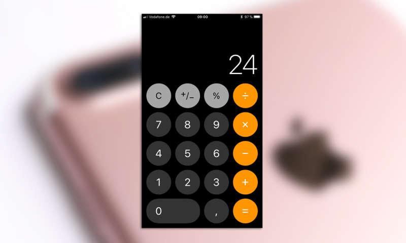 Ios 11 Iphone Taschenrechner Versagt Bei Schnellen Eingaben Connect